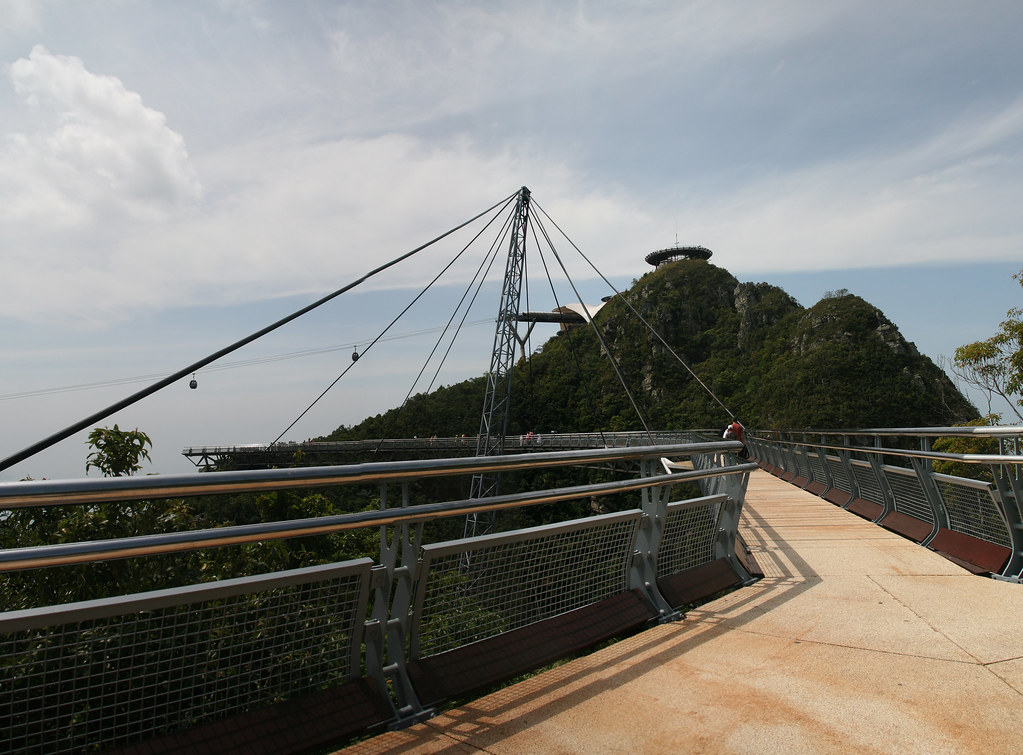 Langkawi Cable Car and Curve Hanging Bridge