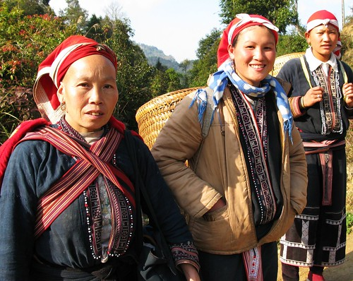 Red Dzao women - Sapa, Vietnam