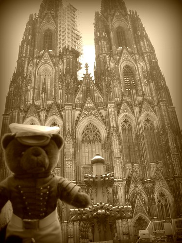 West Point Bear Goes to Cologne