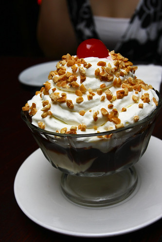 Hot Chocolate Fudge Sundae