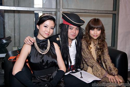 Cynthia, Huai Bin and Ringo