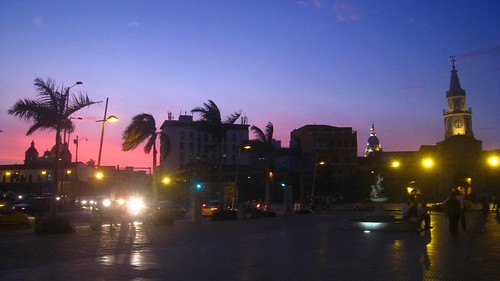 Sunet in Cartagena