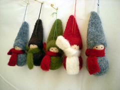 feltypeople (kitkabbit) Tags: christmas xmas cute wool felt ornament ornaments 2008