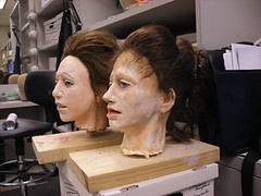"""Step 17 - Making Face Masks for """"Marie"""" (Houston Ballet) Tags: ballet history marie dance theater arts culture cast tomboyd production marieantoinette props beheading guillotine brianwalker houstonballet jessicacollado stantonwelch kellymyernick"""