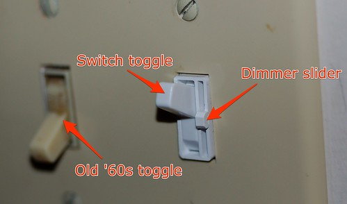 Clever dimmer switch