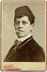 Ella Wesner, male impersonator