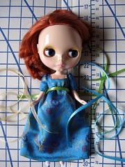 Blue gown in progress (9/52 Theme: Blue)