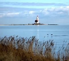 Marken lighthouse (YIP2) Tags: winter lighthouse holland amsterdam landscape island thenetherlands dike marken ijsselmeer dutchlandscape woodenhouses paardvanmarken horseofmarken