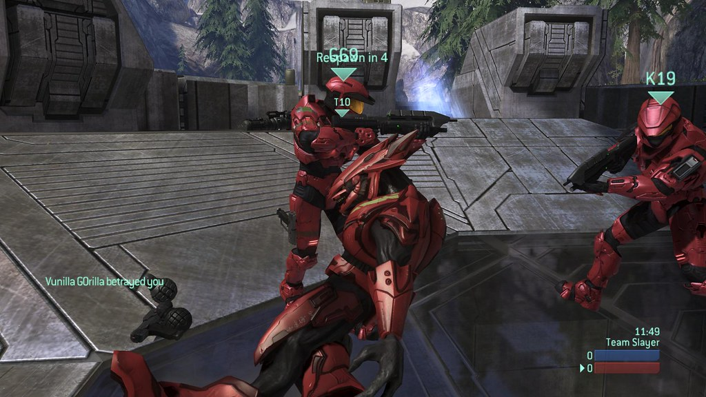 Naked girls on halo 3 would