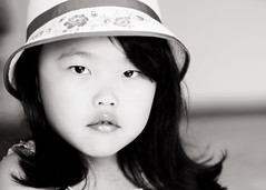My Sophie Lu (Shana Rae {Florabella Collection}) Tags: portrait blackandwhite flower girl beautiful hat child sophie naturallight 50mm14 florabella nikond300 shanarae
