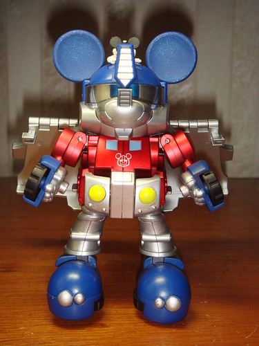 Mickey Mouse Optimus Prime