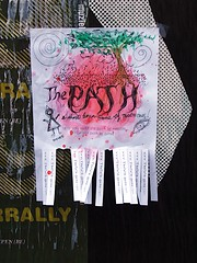 The Path tear off poster
