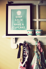 keep calm and have a cupcake. (littlepretty) Tags: art kitchen cupcake etsy aprons circaceramics holidayjenny