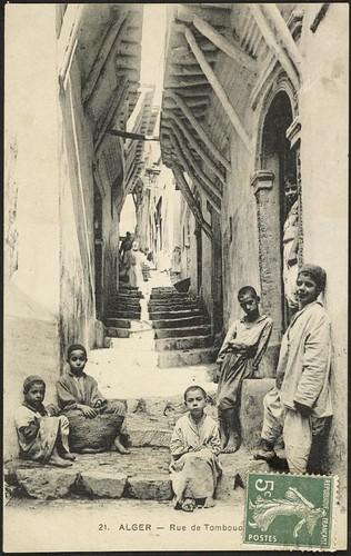 Casbah: Rue du Tombouctou (December 20, 1909)