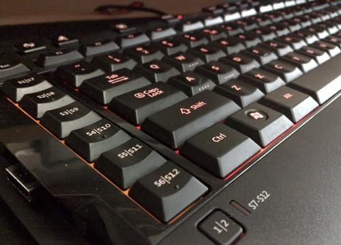 Microsoft SideWinder X6 žaidimų klaviatūra #4