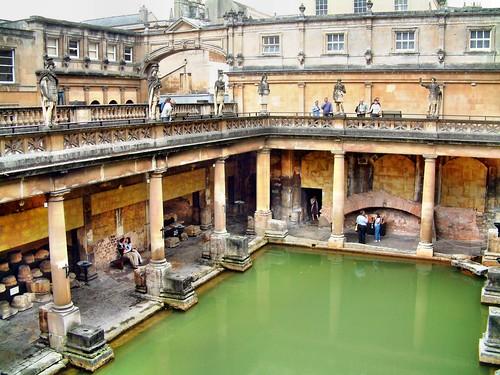 Baños Romanos De Bath:Baños Romanos – Bath – Inglaterra – a photo on Flickriver
