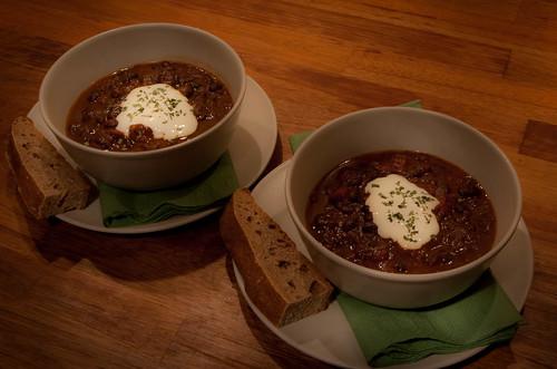 20090321 Black Bean Soup