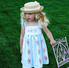Boutique Monogrammed Dress (brambleberryrow) Tags: blue girls roses dress lilac boutique embroidered sundress pinafore personalized monogrammed portraitdress brambleberryrow girlsdress summerdress boutiquedress brambleberryrow monogrammeddress personalizeddress