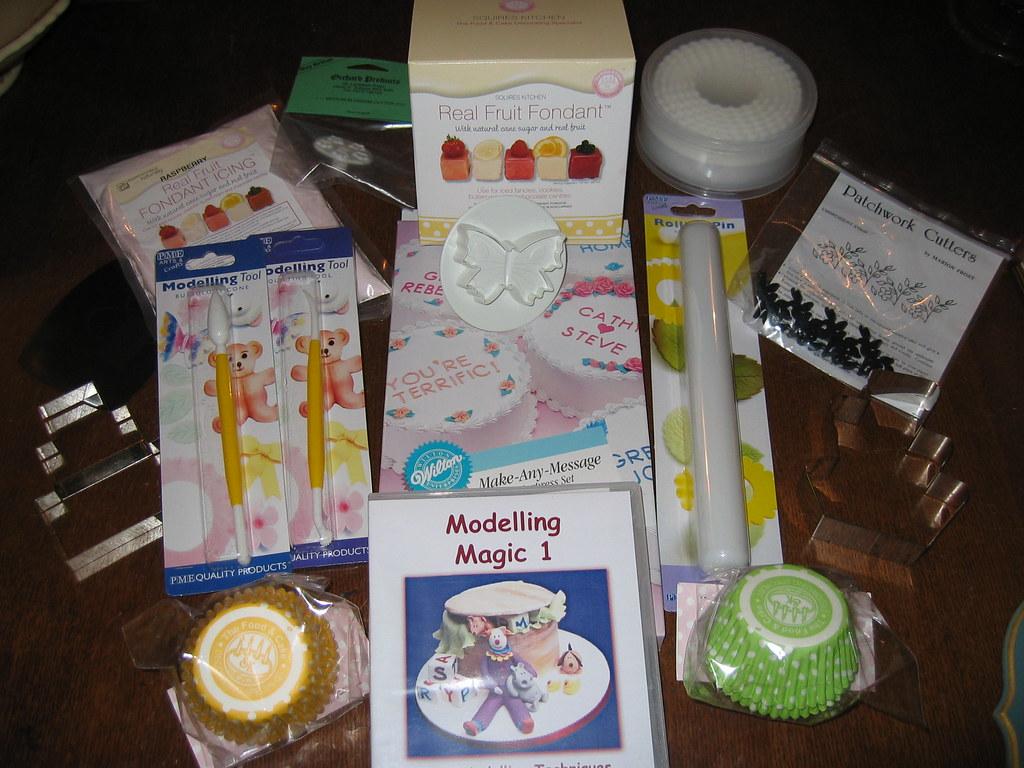 Cake Decorating Goodies
