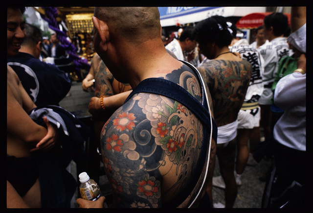 photo TATTOOS ASAKUSA  OF TRIBAL