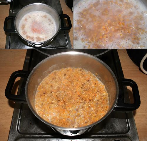 10 - Linsen kochen