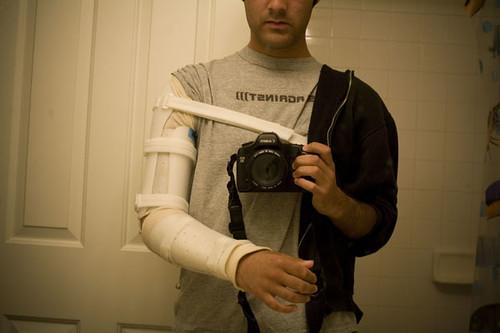Justin Vela herido
