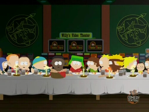 La ultima cena version South Park
