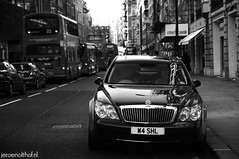 Maybach 57 (Jeroenolthof.nl) Tags: street uk england bw white black london beautiful car modern photography grey lights is amazing nice movement jeroen nikon view shot britain united rear great d70s kingdom automotive explore londres gb if paparazzi lovely nikkor zwart wit londra exclusive limousine vr 56 57 engeland londen zw maybach sloane f35 automotion 1685 olthof wwwjeroenolthofnl jeroenolthofnl jeroenolthof