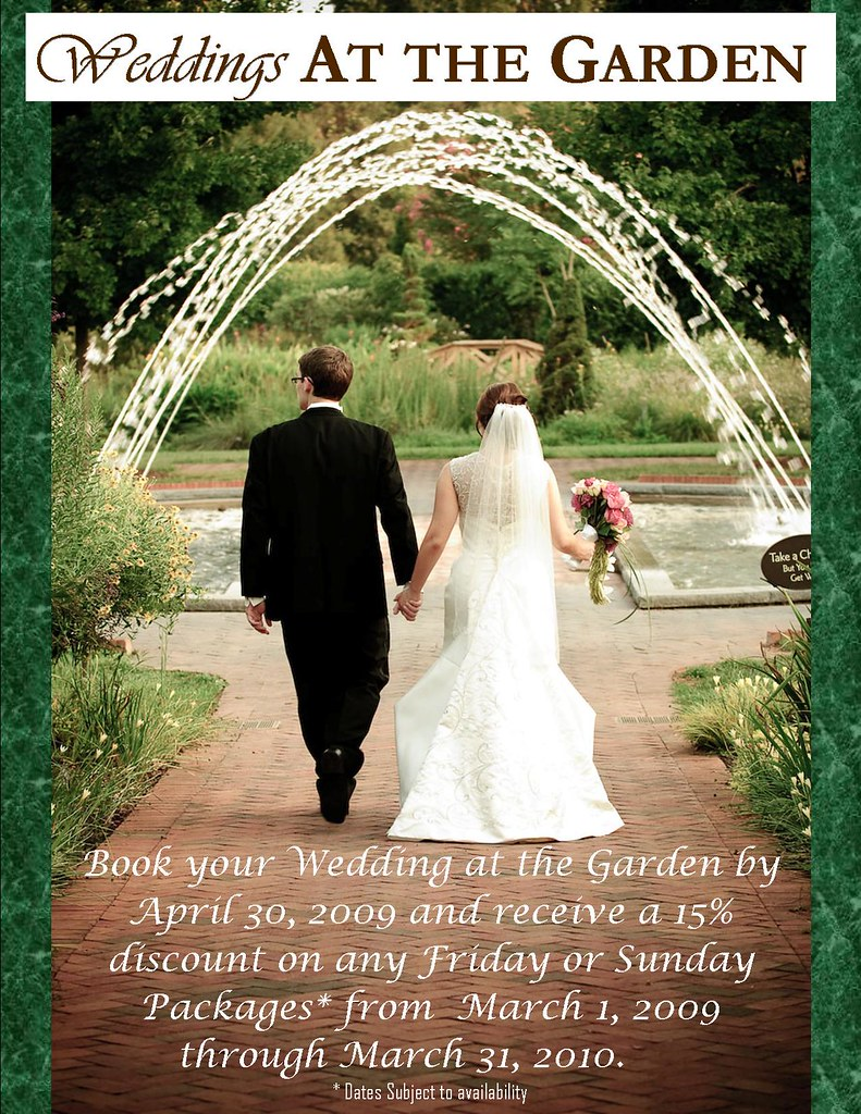 Wedding Flyer 2009