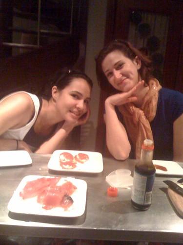 Pilar and Jessica