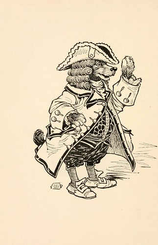 018-Charles Folkard- Pinocchio the tale of a puppet -1911