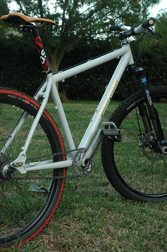 Custom James Frames 650B Aluminum