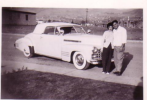 Mom & Dad- San Jose, California ca. 1949