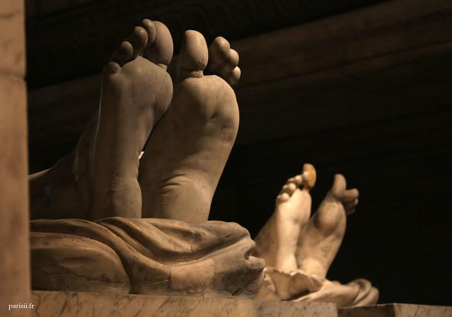 Les pieds des Rois