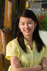Portrait 1 - Angelique (Stephen Chiu) Tags: sunset manilabay mallofasia