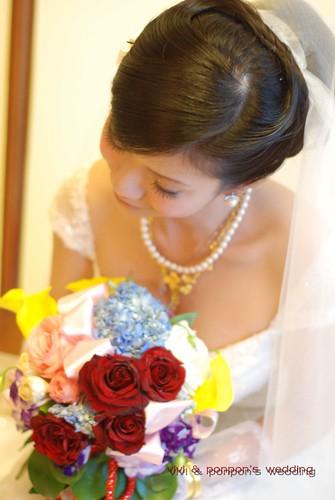 你拍攝的 婚花DSC_0417。