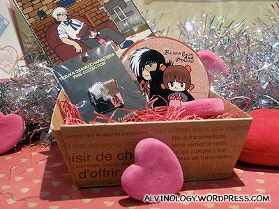 Blackjack Valentines Day collectibles