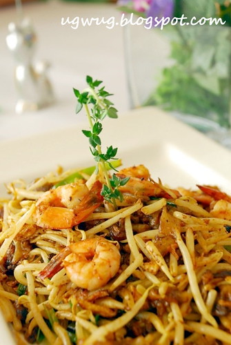 Fried Kway Teow - Flat Rice Noodles