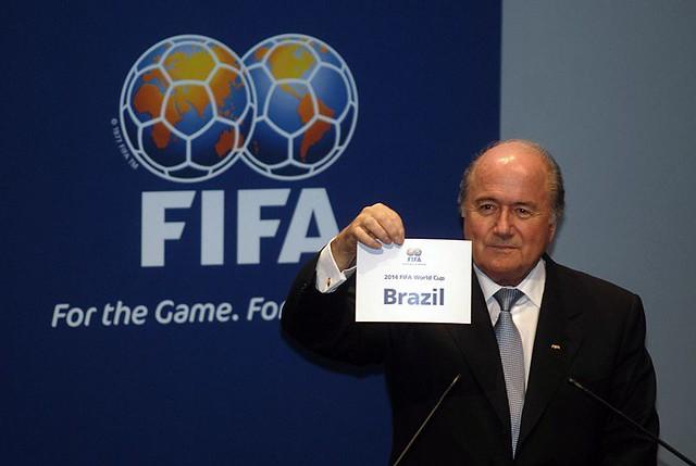 Joseph Blatter FIFA Brasil