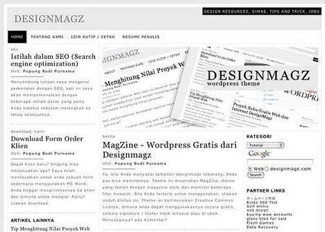 DesignMagz Free WordPress Theme