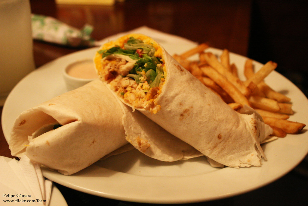Applebee's Chicken Fajita Rollup