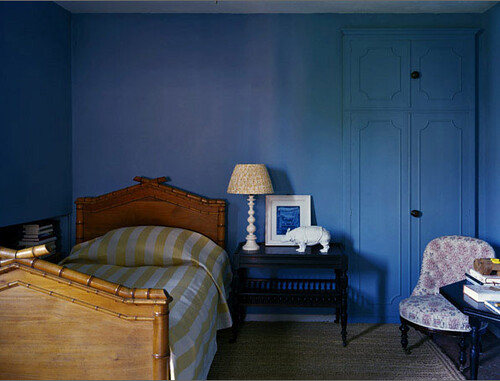 Blue Bedrooom by decorology.