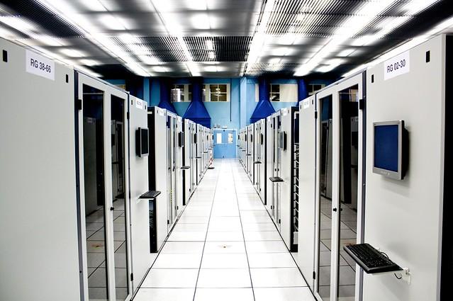 Server room at CERN