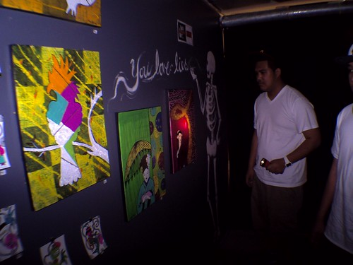 in the dark artshow