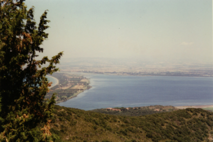 View from Monte Argentario