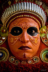 Portrait of a GOD (explored) (saternal) Tags: god kerala event vela theyyam puthur saternal puthurvela