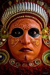 Portrait of a GOD (explored) (saternal) Tags: god kerala event vela theyyam puthur saternal puthurvela