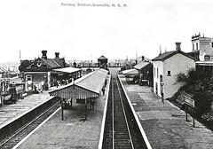 Railway Station - Granville, 1890