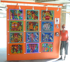 artomatic art show 2009 washington,dc-installation