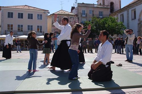 demontração na Praça do Bocage 1MAIO2009 #45